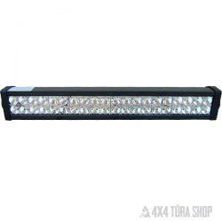 LED fényhíd lámpa 120 W, 4x4 Túra Shop LED fényhíd munkalámpa terepjáró offroad traktor autómentő felszerelés, csörlő rántokötél heveder