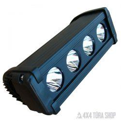 LED fényhíd lámpa 40W, 4x4 Túra Shop LED fényhíd munkalámpa terepjáró offroad traktor autómentő felszerelés, csörlő rántokötél heveder