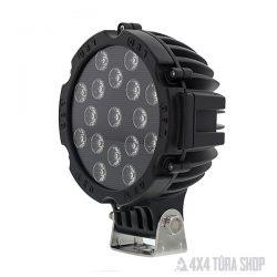 LED lámpa 51W, 4x4 Túra Shop LED fényhíd munkalámpa terepjáró offroad traktor autómentő felszerelés, csörlő rántokötél heveder