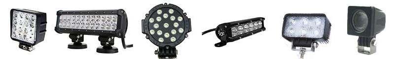 Led munkalámpák és fényhidak, 4x4 Túra Shop LED fényhíd munkalámpa terepjáró offroad traktor autómentő felszerelés, csörlő rántokötél heveder