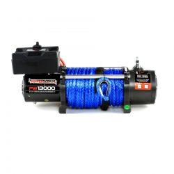 powerwinch elektromos csörlő szintetikus kötéllel 13000 5,9 tonna