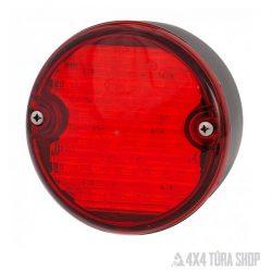 piros_LED_ködlámpa, 4x4 Túra Shop LED fényhíd munkalámpa terepjáró offroad traktor autómentő felszerelés, csörlő rántokötél heveder