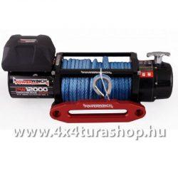 PW1200XSR_szintetikus_csorlo, 4x4 Túra Shop LED fényhíd munkalámpa terepjáró offroad traktor autómentő felszerelés, csörlő rántokötél heveder