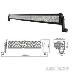 LED-fényhíd, 300 watt, 100 Cree LED terepjáró világítás