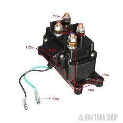 QUAD ATV elektromos csörlő relé 200A solenoid