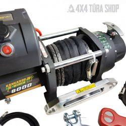 K8000E-SR-12V csörlő